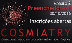 Cosmiatry - Módulo 2 Preenchedores I