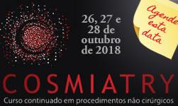 Cosmiatry 2018 de 26 a 28 de outubro Agende essa data