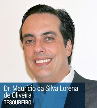 Dr Mauricio da Silva Lorena de Oliveira - Tesoureiro