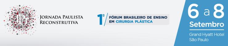 JPr e 1o. Forum de Ensino em Cirurgia Plástica