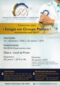 Concurso para Estági oem Cirurgia Plástica