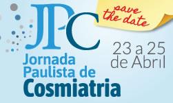 Jornada Paulista de Cosmiatria 23 a 25 de abril