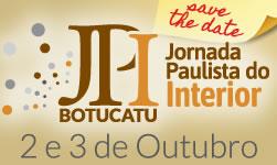 Jornada Paulista do Interior BOTUCATU 2 e 3 de outubro